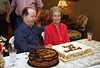 Amy &amp; Gilbert's 90th Birthday Celebration 4-10-10 : Amy &amp; Gilbert Jones celebrated their 90th birthday at the home of their grandchildren, Greg and Bryn Jones.