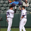 TCU BASEBALL ALUMNI GAME 2-6-10 : In a very close game the Horned Frogs defeated the Alumni by a score of 3-2. The Frogs were led by junior transfer Joe Weik's home run, while the Alumni were paced by Stuart Musselwhite's solo home run and Keith Conlon's RBI single.