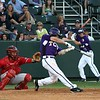 TCU Baseball Game #19 vs New Mexico 3-21-08 : TCU lost to New Mexico by a score of 7 to 4. Brett Medlin was the hitting star of the game going 3 for 3.