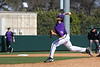 TCU Baseball Game # 2 vs Cal State Fullerton 2-23-2008 : Starting pitcher, sophmore Steven Maxwell,pitched 7 excellent innings holding Cal State Fullerton to 2 runs on 4 hits, while striking out 5 Titans to lead the Frogs to a 4- 2 victory on Saturday afternoon at Lupton Stadium. Maxwell was in command all day except for a 2 run homer by Titan, Eric Komatsui.Tyler Lockwood then came out of the bullpen to pitch a perfect 8th inning, giving way to junior college transfer, Andrew Cashner who closed out the game and pick up his first TCU save. The Frogs' offense was again led by Ben Carruthers, who had 2 hits and scored a run, and Matt Verne with 2 hits, 2 runs scored and a RBI.
