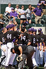TCU Baseball Game # 34 vs UNLV 4-12-2008 : Freshman Sean Hoelscher set the tone for Saturday's afternoon game against UNLV by pitching 7 innings, striking out 8, and only allowing an unearned run as the Frogs won by a score of 9 to 1. Taylor Cragin came in and pitched the final 2 innings,allowing no runs to score. offensively Matt  Carpenter led the Frogs with 2 solo home runs,while Chris ellington added 3 RBI's and Jimmie Pharr contributed a 3 run pinch  hit homerun.