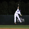 Freshman Taylor Featherston leaps high in the air to rob a DBU batter of a sure hit on 2-24-2009.
