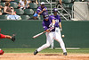 TCU Baseball Game # 43 vs SAN Diego 4-28-2007 : For the second day in a row the Frogs defeated San Diego State by a 1 run margin, winning 6 to 5. Donald Furrow was the winning pitcher in relief of starter Chris Johnson. Sam Demel pitched the last 2 innings of the game and earned his 8th save of the season. Hunt Woodruff had a big day offensively for the Frogs, scoring 3 times and hitting a 2 run homer in the 4th inning. Steve Ellington chipped in with a double and a RBI.