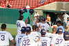 TCU Baseball Game #58 MTN West Championship Game 5-26-2007 : In a magical comeback TCU scored 4 runs with 2 outs in the bottom of the ninth inning to defeat BYU 9 to 8 and for the second year in a row win both the regular season and the tournament championship of the Mountain West Conference. The big hit in the ninth was off the bat of Austin Adams who hit a first pitch fast ball over the center field wall to score Clint Arnold and Steven Trout to tie the game at 8 all. Next Andrew Walker, despite leg cramps hit a double and then scored on Matt Verne's clutch 2 out single with the count at 2 balls and 2 strikes. Clint Arnold and Hunt Woodruff each had 2 hits and Keith Conlon drove in 2 RBI's, including 1 in the 4th inning on his 8th home run of the season. Steven Maxwell in relief received the victory.