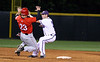 TCU Baseball Mtn West Tournament vs Utah 2.20.2009 : Utah upset TCU by a score of 9 to 7, putting TCU in the losers bracket for the rest of the tournament.  Chris Ellington was outstanding for the Frogs going 3 for 5 with 5 RBI's.